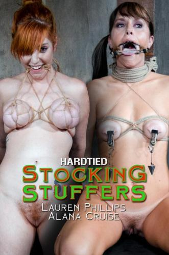 Alana Cruise, Lauren Phillips - Stocking Stuffers [HD, 720p] [HardTied.com]