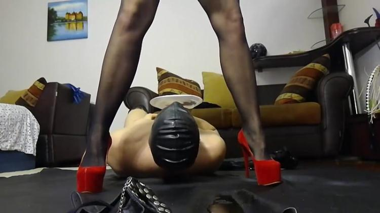 Bizarre action with Silicone Godess - Femdom Scat / 28 Jan 2017 [Scat Fboom / FullHD]