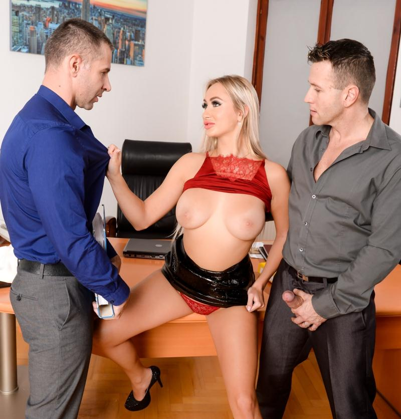 DPFanatics/21Sextury: Lara Onyx - Office Double-Shift  [FullHD 1080p] (1.43 GiB)