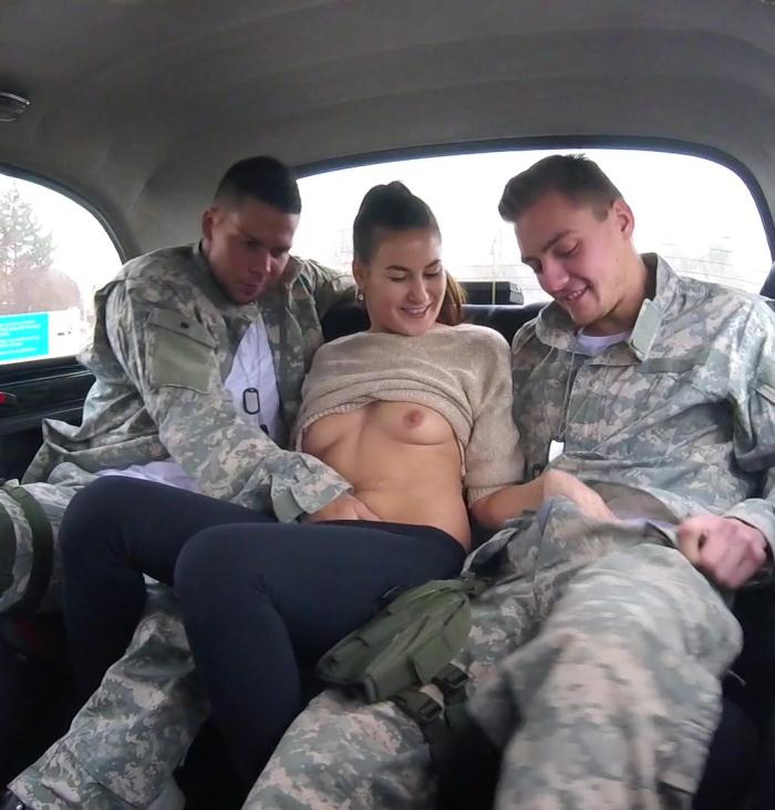 FemaleFakeTaxi - Yenna - Marines perform their call of booty  (1080p / FullHD)
