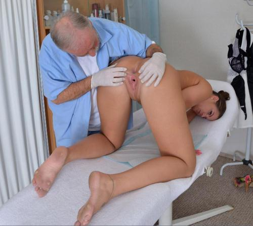 Gyno-X.com [Vanny Ulli - 25 years girl gyno exam] HD, 720p