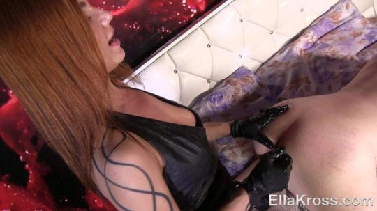 EllaKross: Tormenting My Slave with the Biggest Strap-On Ever! (FullHD/1080p/243 MB) 11.01.2017