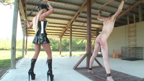 ClubDom.com [Alexia Jordan Whips The Slave] FullHD, 1080p