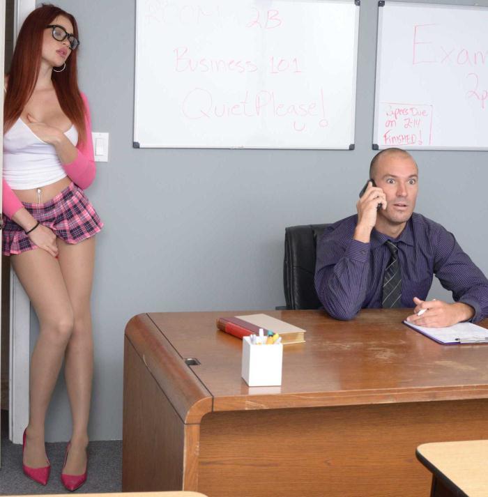 BigTitsAtSchool/Brazzers: Skyla Novea - Skyla Hates Studying  [HD 720p]  (Big Tits)
