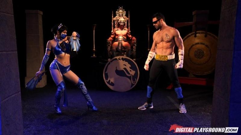 DigitalPlayground.com: Aria Alexander - Mortal Kombat: A XXX Parody [SD] (366 MB)