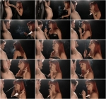 Mistress Amber Leigh smokes her slave 1080p