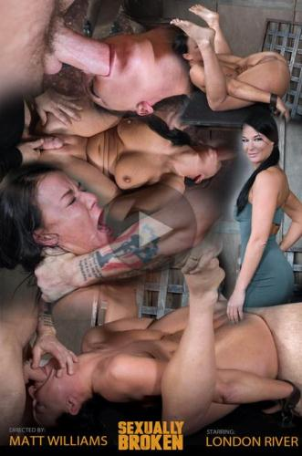 SexuallyBroken.com [London River double fucked into subspace] HD, 720p