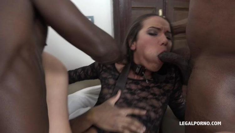 Nataly Gold - watch and see how four black guys destroy her ass IV033 / 10 Jan 2017 [LegalPorno / SD]