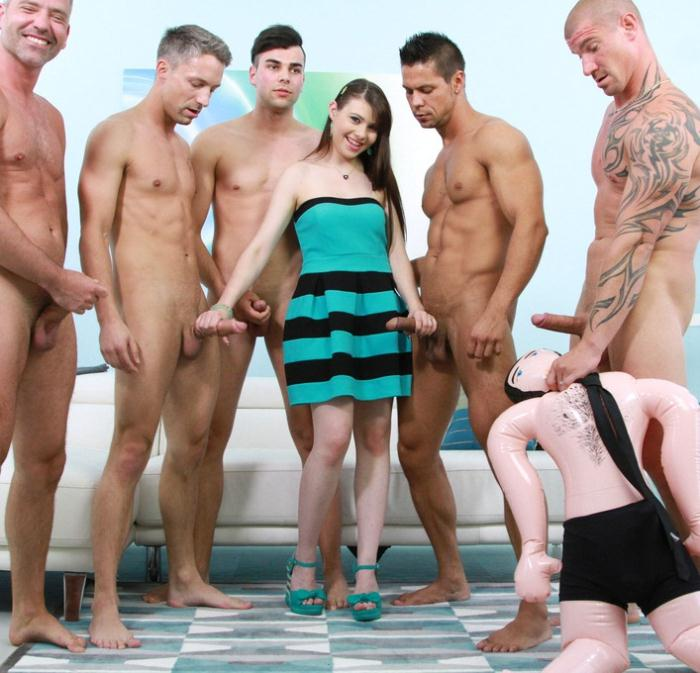 Luna Rival - Luna Rival anal gangbang with DAP and creampie SZ1373 [HD 720p]