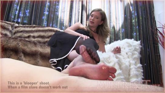 MistressT: Mistress T - Blooper Shoot Full Length (720p/HD/770 MB) 2017