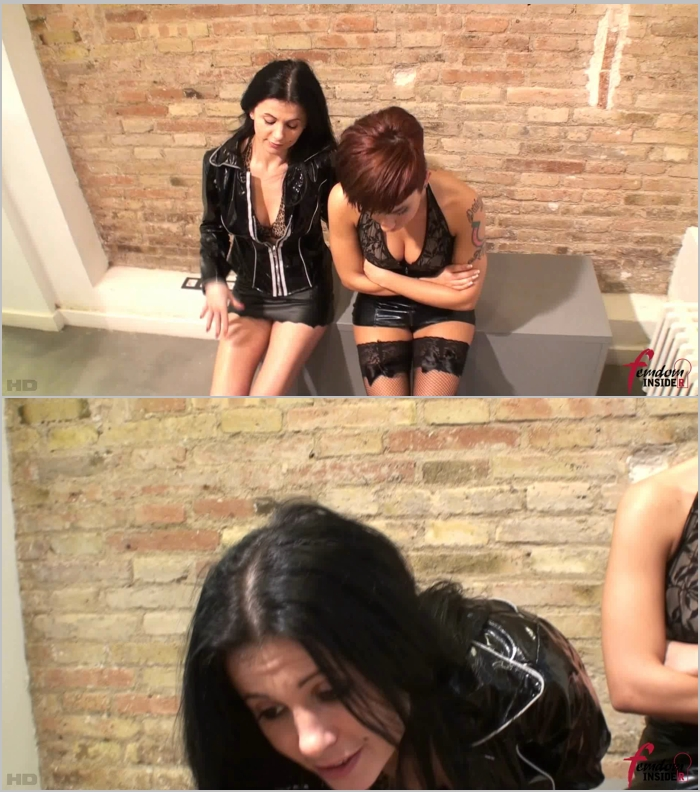 FemdomInsider: Miss Dolce and Mistress Soraya - Two Oral Servants For Our Dirty Boots  [FullHD 1080] (238 MB)