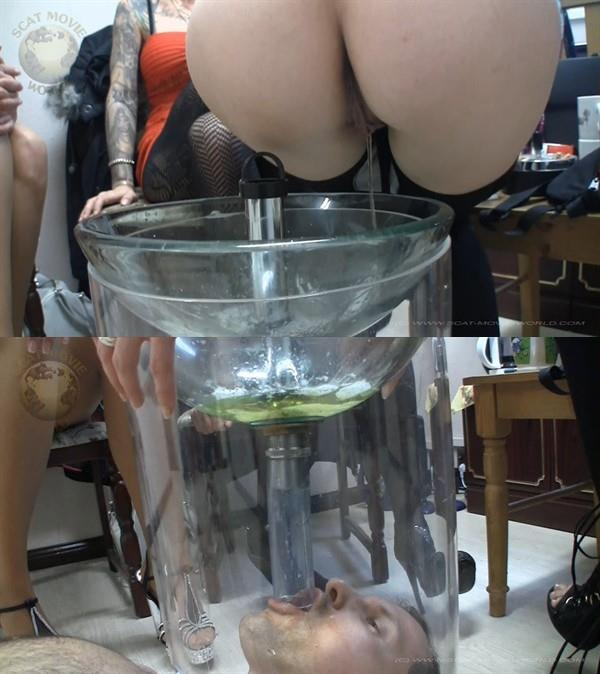 Amateur Very much piss and spit for the slave [Piss Video 1080p]