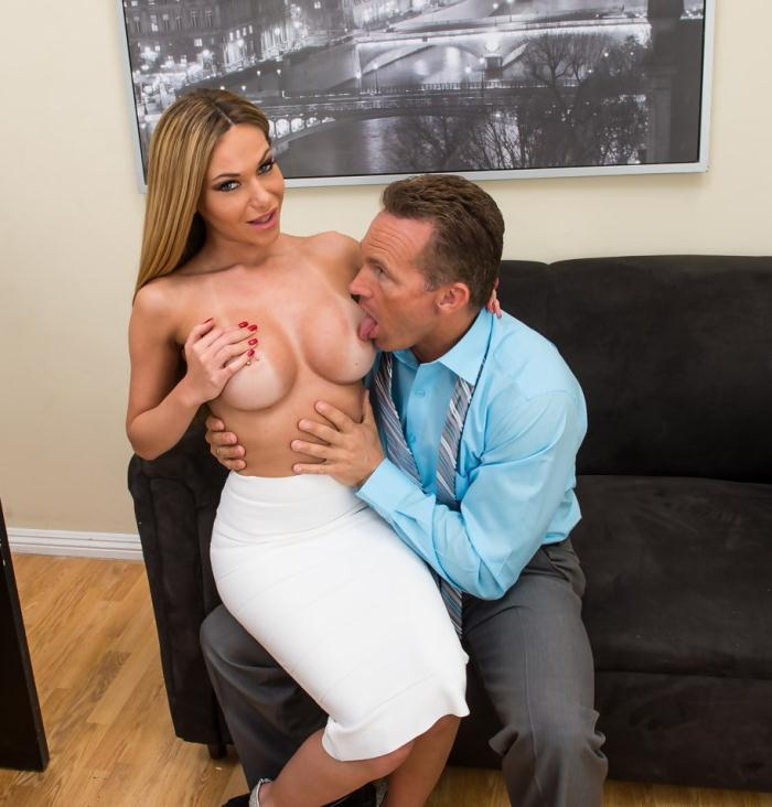 Subil Arch - Blonde Russian Hottie Fucks Her Boss to Keep Her Job HD  [FullHD 1080p]