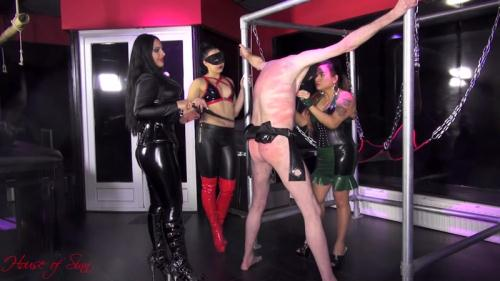 Mistresses Ezada Sinn, Saint Lawrence and Gaia - Vicious Goddesses Of Pain [FullHD, 1080p] [Houseofsinn.net]