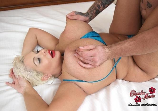 Claudiamarie.com: Big Tit Massage - Claudia Marie, Kaiden [HD/2017]