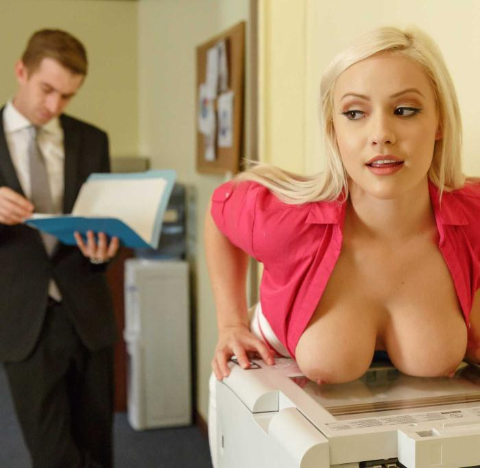 Kylie Page - Not Safe For Work [HD 720p] - BigTitsAtWork/Brazzers