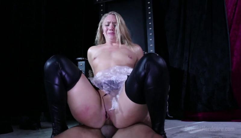 DeviantHardcore.com: AJ Applegate Saran Wrapped and Fucked [FullHD] (1.56 GB)