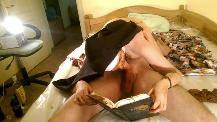 [Fboom Scat] - Blasphemous Scat Nun - Part 4 - Shitting and Fucking (25.01.2017) [FullHD, 1080p]