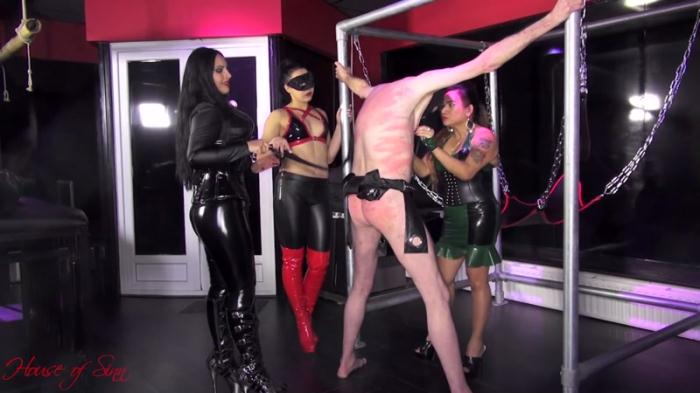 Mistresses Ezada Sinn, Saint Lawrence and Gaia - Vicious Goddesses Of Pain (Houseofsinn) FullHD 1080p