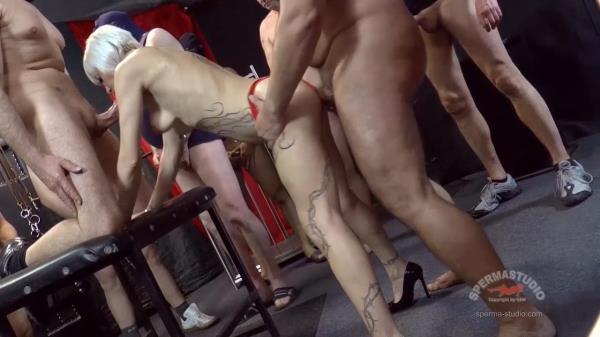 Klara - 3 hole slut Klara take 2 (Sperma-Studio) [FullHD 1080p]