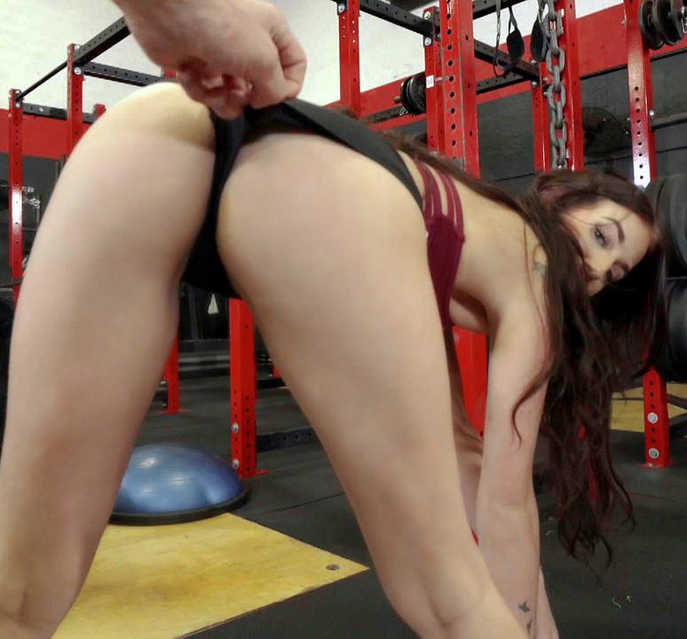 Aubrey Rose - Doggystyle Fuck On Gym Bike  (2017/IKnowThatGirl/Mofos/HD/720p)