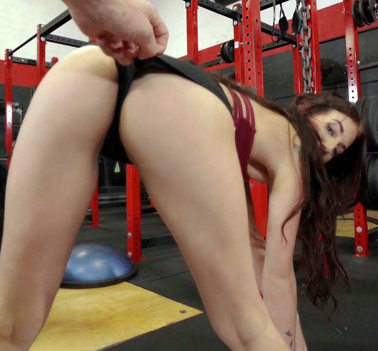 IKnowThatGirl/Mofos - Aubrey Rose [Doggystyle Fuck On Gym Bike] (HD 720p)