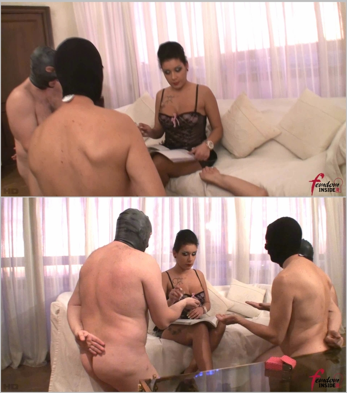 FemdomInsider - Lady Amazon - Three Ashtrays For Lady Amazon [FullHD 1080]