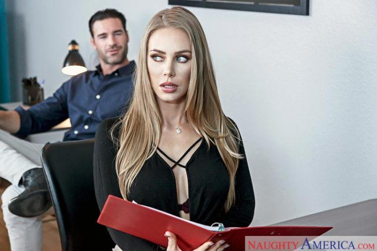 Nicole Aniston - Naughty Office / 05 Jan 2017 [NaughtyAmerica / SD]