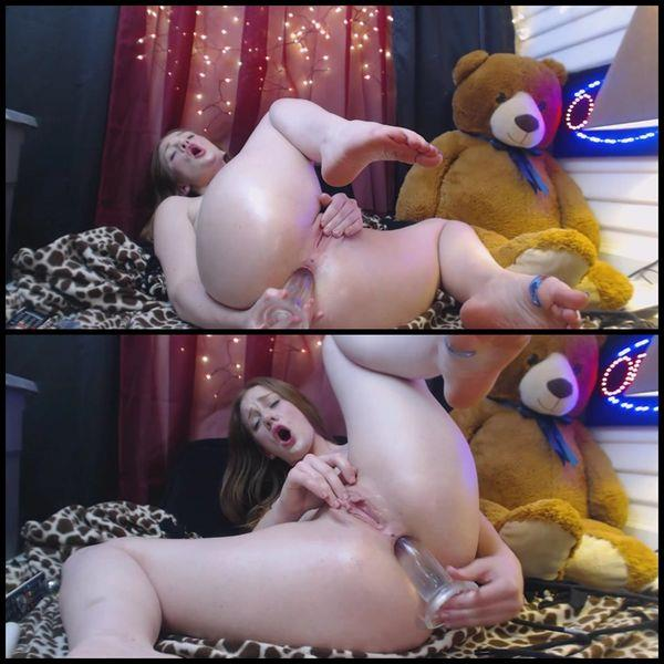 Gingersypce ANAL Domination Hour Live pt2 (2017/HD)