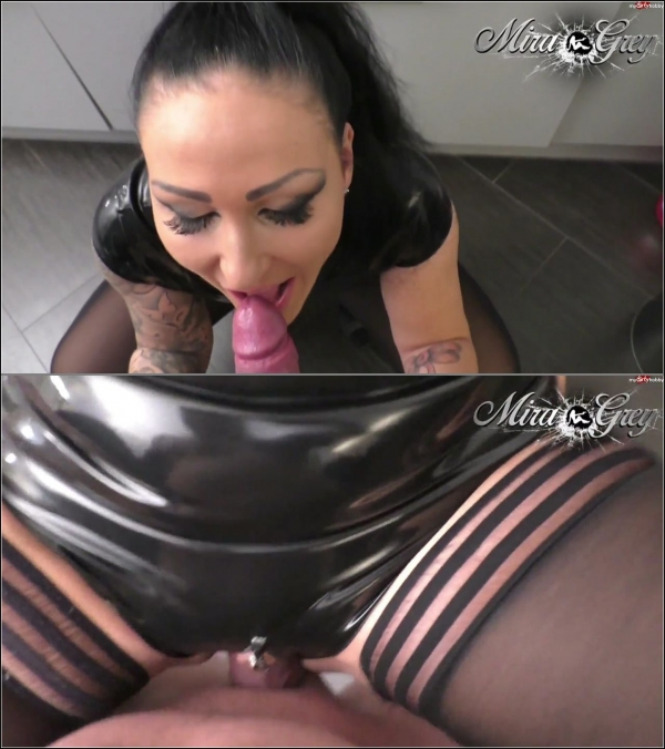 (MDH) Mira-Grey - Latex-Bitch - Fotzensprengung (FullHD/1080p/195 MB/2017)