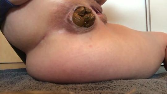 Scat Porn: Extrahard morning - Solo Scat (FullHD/1080p/66.6 MB) 06.01.2017