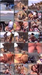 Orssi Baby - BTS - Sex on the beach with 3 men [SD 540p] (233 MB) WoodmanCastingX
