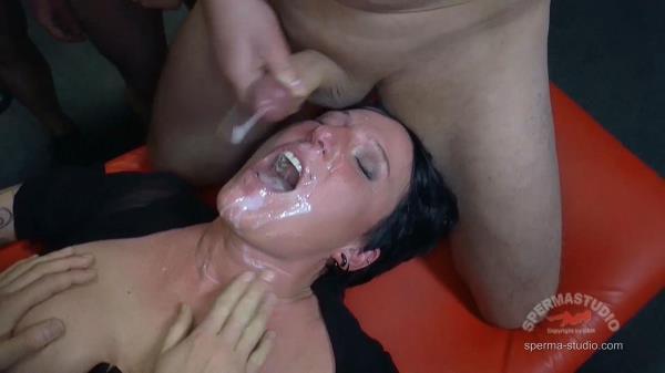 Dildo and sperm: Cosima - Sperma-Studio 1080p