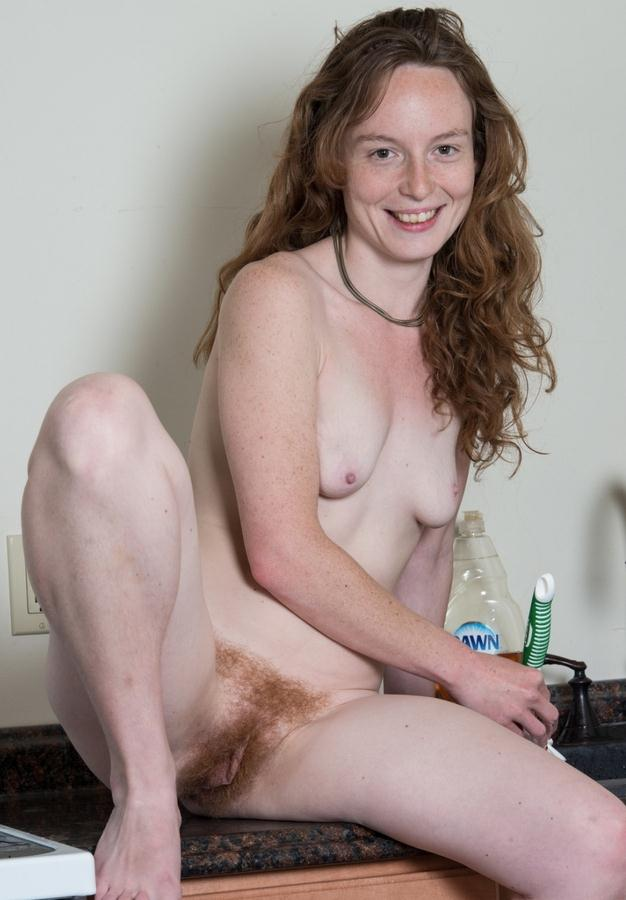 Ana Molly, 30 years old, USA, Washington (WeAreHairy) HD 720p