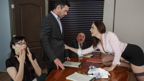 PornstarsLikeItBig.com / Brazzers.com [Chanel Preston - Vote of Cum-fidence] SD, 480p