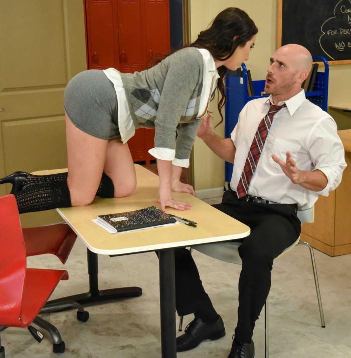 Karlee Grey - No Bubblecum In The Classroom [HD 720p] - BigTitsAtSchool/Brazzers
