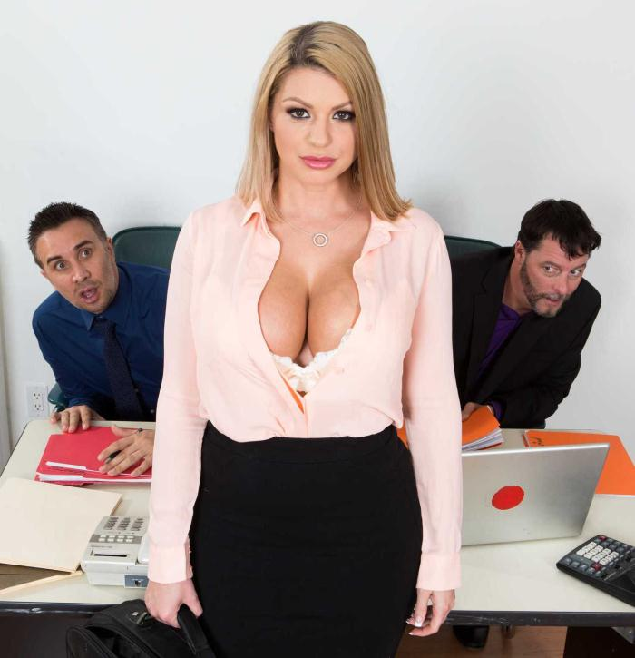 Brooklyn Chase - A Case of the Moan Days [HD 720p] - BigTitsAtWork/Brazzers