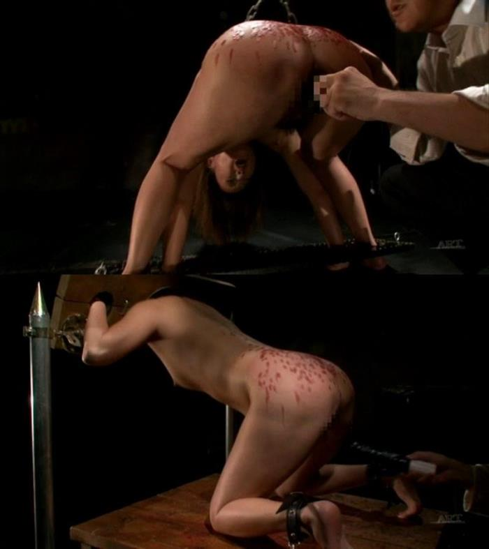 Painful rough masturbation and forced orgasms of helpless girl [SD 450p]