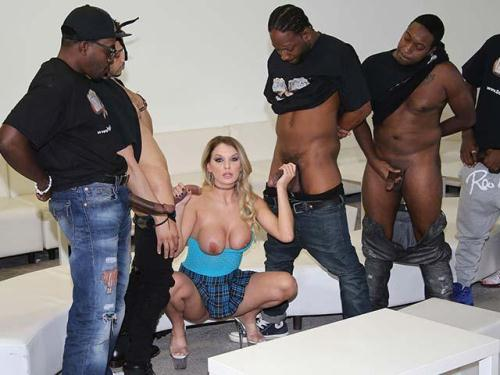 InterracialBlowbang.com / DogfartNetwork.com [Kenzie Taylor] SD, 432p