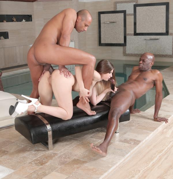 Hot British babe Stella Cox gets DP in hard rough interracial threesome: Stella Cox - Porndoepremium 1080p