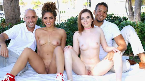 (DaughterSwap | FullHD) Karlie Brooks, Payton Banks - THE DUAL DAUGHTER AGREEMENT (3.12 GB/2017)