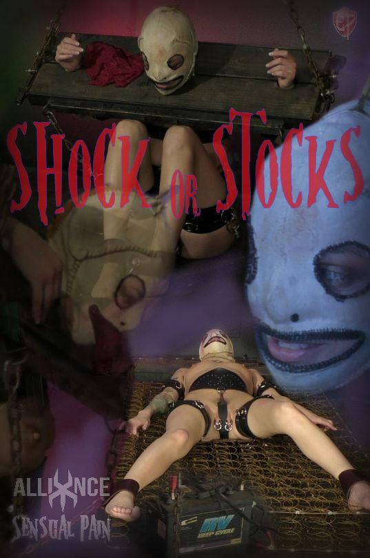 SensualPain.com: Shock Or Stocks [FullHD] (2.50 GB)