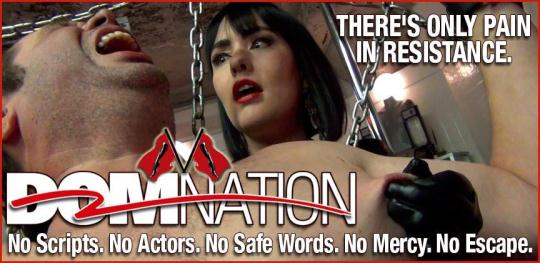 Clips4sale, Domnation: Brutally beating the skin off a screaming slave (HD/720p/291 MB) 17.01.2017