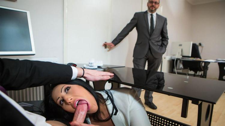 Candi Kayne - Take Your Teen To Work Day / 18 Jan 2017 [Brazzers / SD]