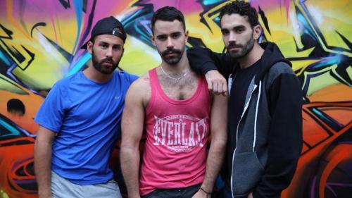 EricVideos.com [Rafael, Malik XXL, Teddy - Starving for Jizz!] HD, 720p