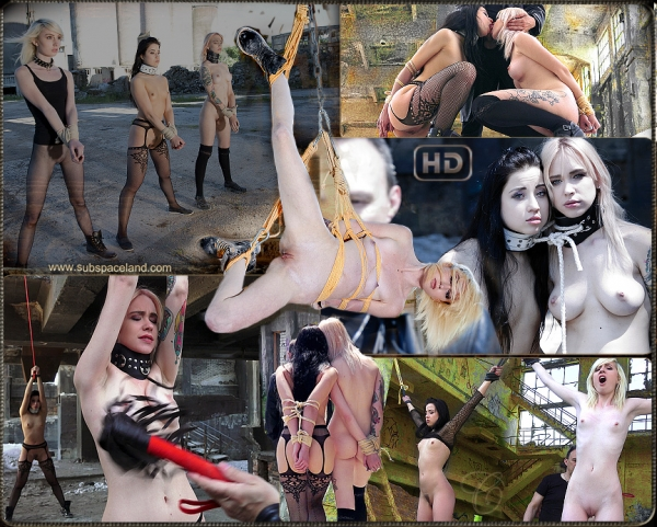 Arteya, Noa Livia, Taissia Shanti - Abandoned Slave Factory Part II [FullHD 1080p] - Subspaceland.com