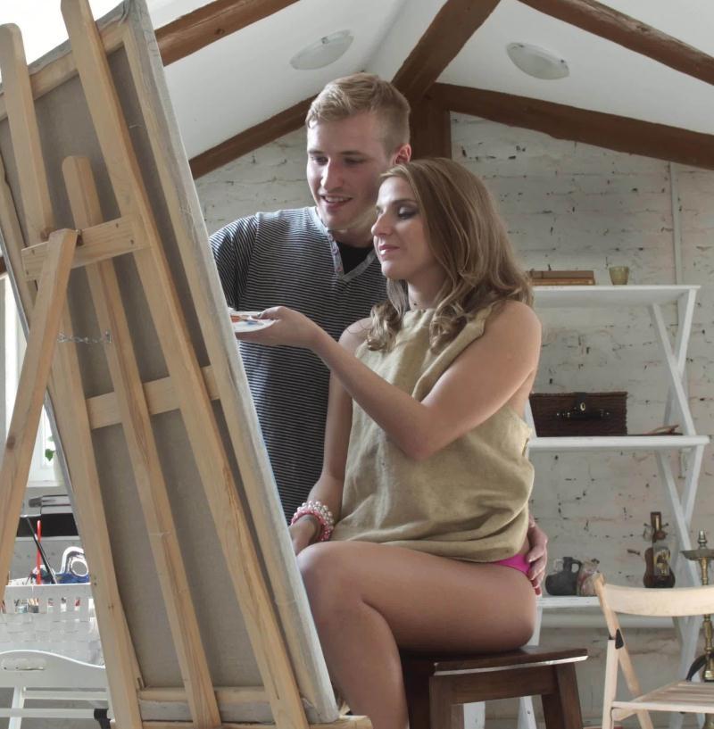 Wankz - Amateur [Sexy Teen Painter Is A Work Of Art HD] (FullHD 1080p)