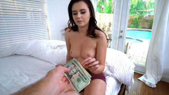 PublicPickUps: Karlie Brooks - Shy Brunette Flashes Pussy (SD/480p/342 MB) 11.01.2017
