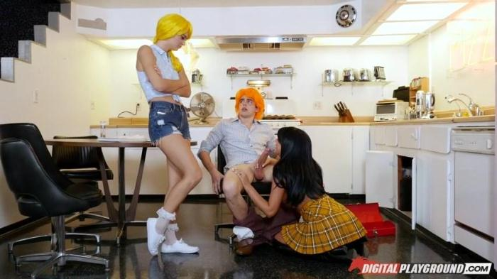 August Ames, Natalia Starr - Betty & Veronica: An Archie Comics XXX Parody / 17-01-2017 [SD/480p/MP4/452 MB] by XnotX