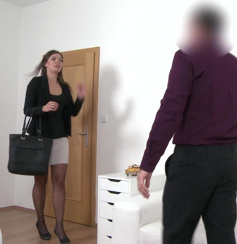 FakeAgent - Ellie Springlare [Milf Fucks Agent on Casting Couch] (FullHD 1080p)